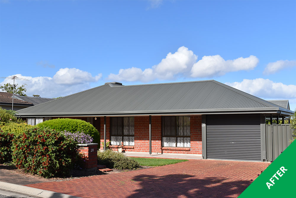 Woodcroft Colorbond 174 Steel Roof Restoration Dulux